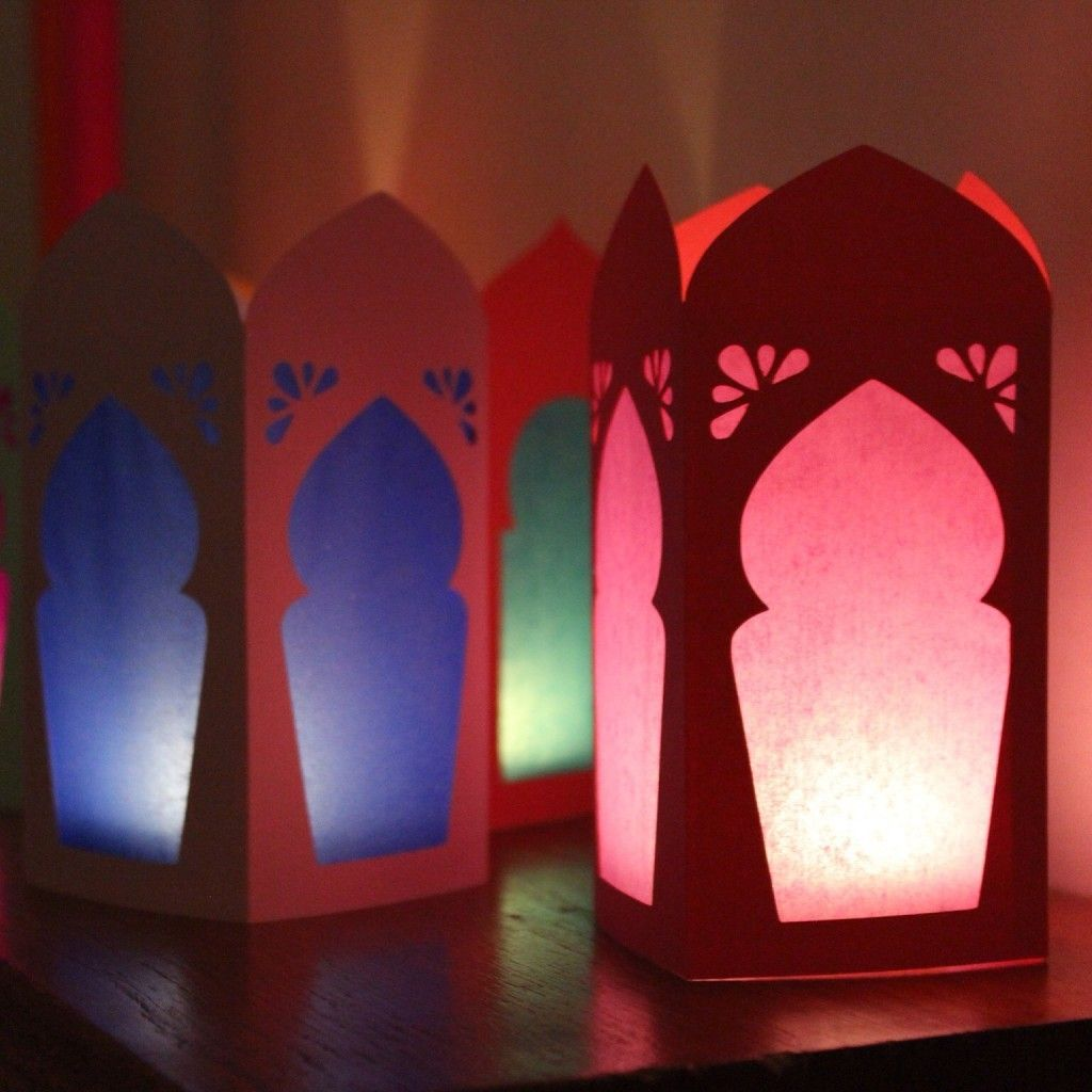 The Traditional Fanoos and DIY Ramadan Lanterns