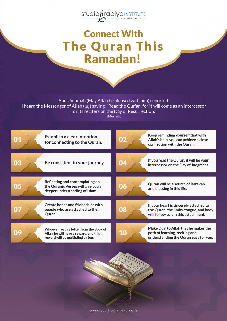 Connect with the Quran this Ramadan!